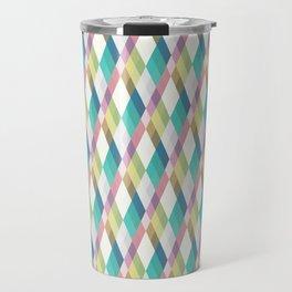 Pastel Diamonds Travel Mug