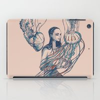 jellyfish iPad Cases featuring Jellyfish by Huebucket