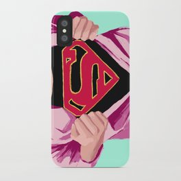 Girl, you're super iPhone Case
