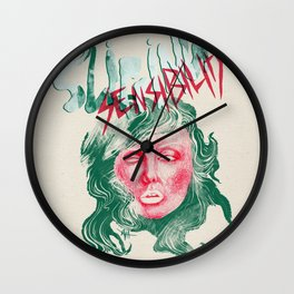 "Debbie Harry(BLONDIE) ""Slipping Sensibility"" - The Punk Loons. Wall Clock"