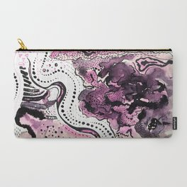 Crazy Pink Carry-All Pouch
