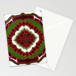 Mandala Floral Pattern Design Art Doodle Stationery Cards