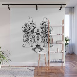 guarded Wall Mural