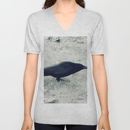dark crow Unisex V-Neck