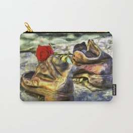 Shoes On The Danube Van Gogh Carry-All Pouch