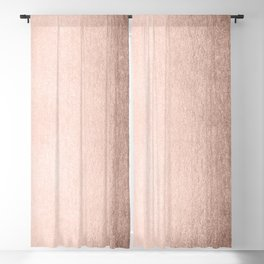 Moon Dust Rose Gold Blackout Curtain