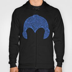 Mega Man Typography Hoody