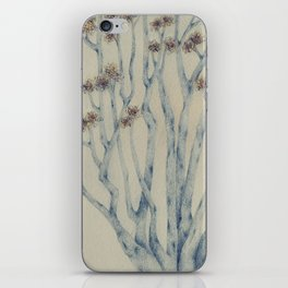 Winter trees iPhone Skin