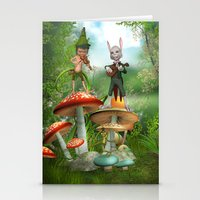 concert Stationery Cards featuring Night Concert by Simone Gatterwe