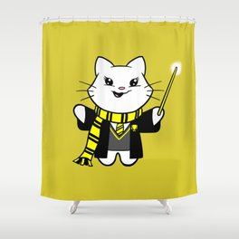 Wizardkitty Badger House! Shower Curtain