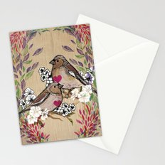 Floral Birds Stationery Cards
