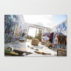 get gripped Canvas Print