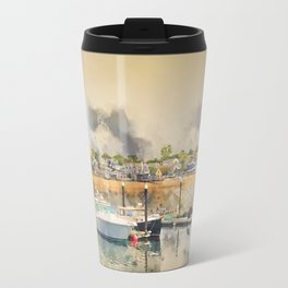 Provincetown Harbour, Cape Cod Travel Mug
