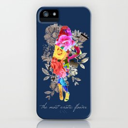 The Most Exotic Flower iPhone Case