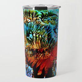 Colorful Underwater Plants Travel Mug