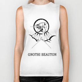 Lucas North : Gnothi Seauton Biker Tank