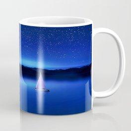 The Star Gazer - Nautical Milky Way Twilight Coffee Mug