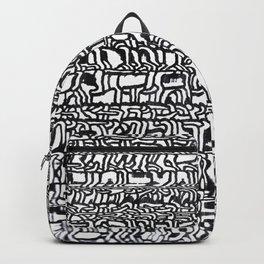 step letter Backpack