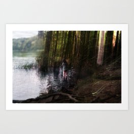 Other Side (2) Art Print