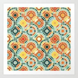 Bauhaus Geometric Art Print