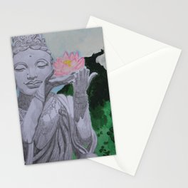 Gift of a Lotus Stationery Cards