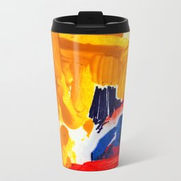 Study for Figure at the Base of a Crucifixion #3 Metal Travel Mug