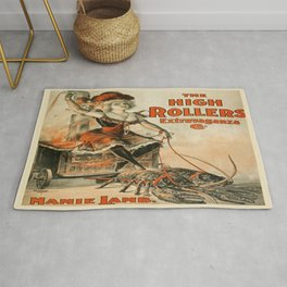 Vintage poster - The High Rollers Extravaganza Rug