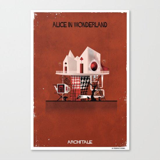 06_ARCHITALE_Alice in Wonderland Canvas Print