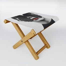 BLACK BUTTERFLY Folding Stool