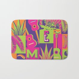 MEXICAN SUMMER FIESTA Bath Mat