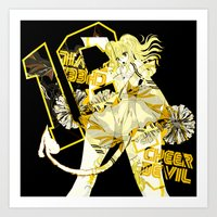 2016 CHEER DEVIL GOLD ver. Art Print
