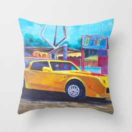 Sizzler Throw Pillow