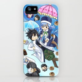 Gruvia iPhone Case