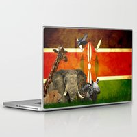 safari Laptop & iPad Skins featuring safari by Netoo Maldonado Rivera