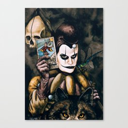 Tarot & Totems Canvas Print