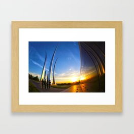 Aim High Framed Art Print