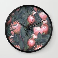 Proteas party Wall Clock