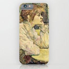 Henri De Toulouse Lautrec - The Hangover iPhone Case