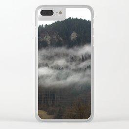 Swiss Fog V Clear iPhone Case