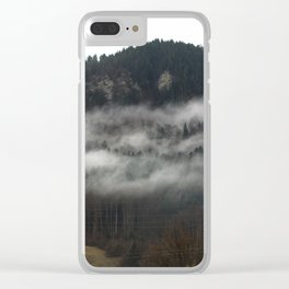 Swiss Fog V Clear iPhone Case