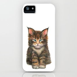 Little Kitten II iPhone Case