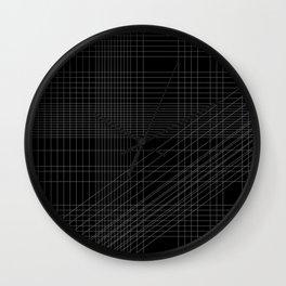 Principles of Geometry Print Inverted Wall Clock