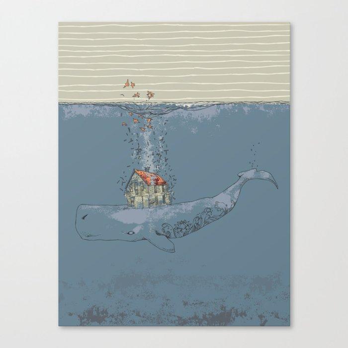 Ocean Home Canvas Print