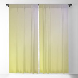 Yellow Gradient 2 Blackout Curtain