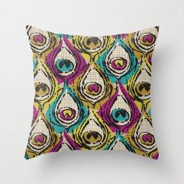 Eyeful/Jewel Throw Pillow