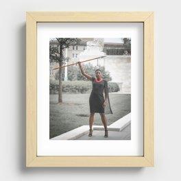 Dora Milaje Recessed Framed Print