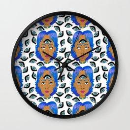 Eye See You // Sailor Mercury Wall Clock