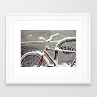 cycle Framed Art Prints featuring Cycle by Kiersten Marie Photography