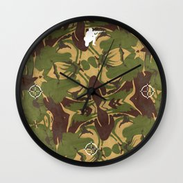 Faded Camo. Be incognito! Wall Clock