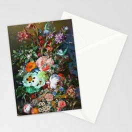 Bohemian festive floral Stationery Cards